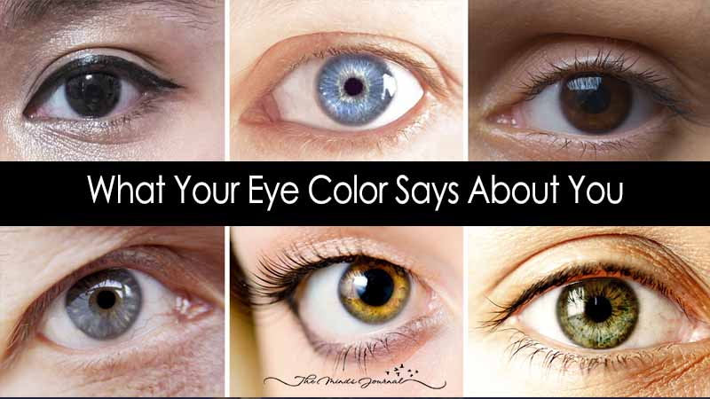 This Is What Your Eye Color Says about You