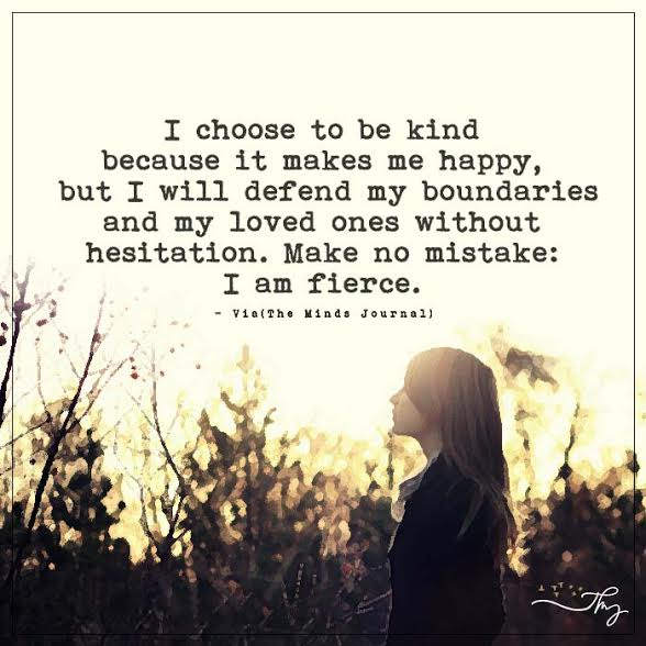 I choose to be kind