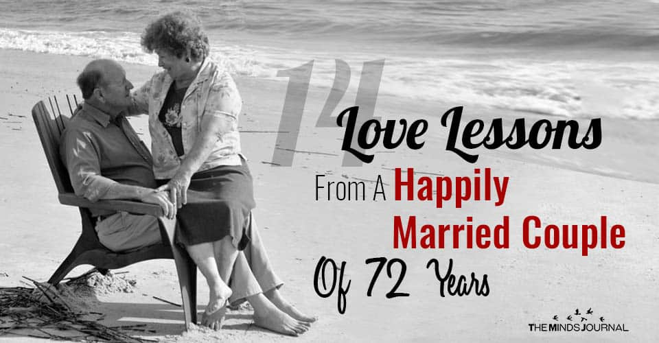 14 Love Lessons From A Happily Married Couple Of 72 Years