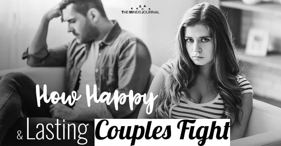 How Happy and Lasting Couples Fight