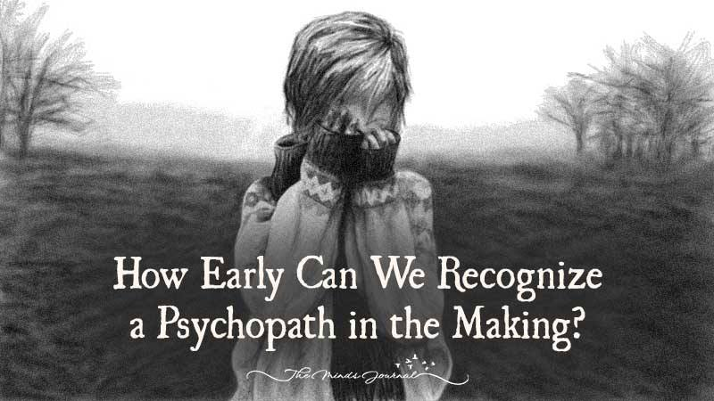 How Early Can We Recognize A Psychopath In The Making