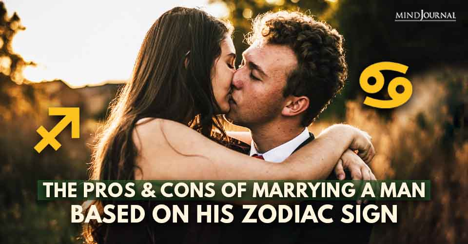 The Pros and Cons of Marrying Him