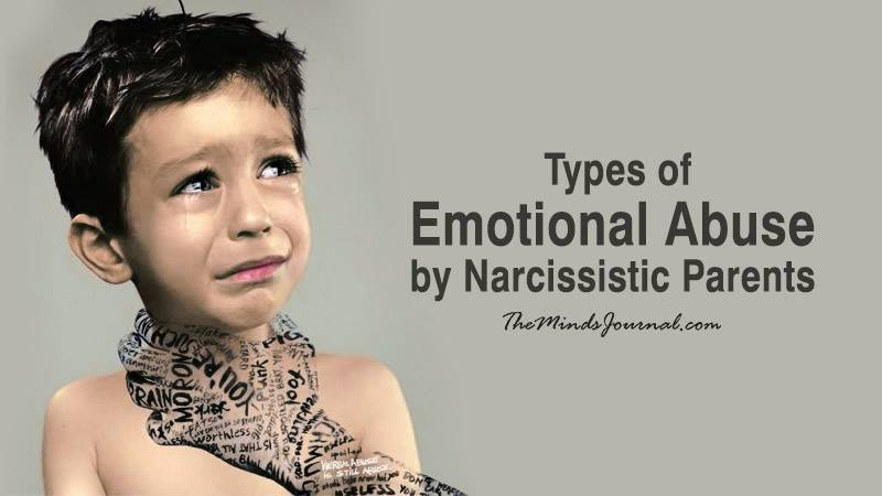 Six Kinds of Emotional Abuse by Narcissistic Parents