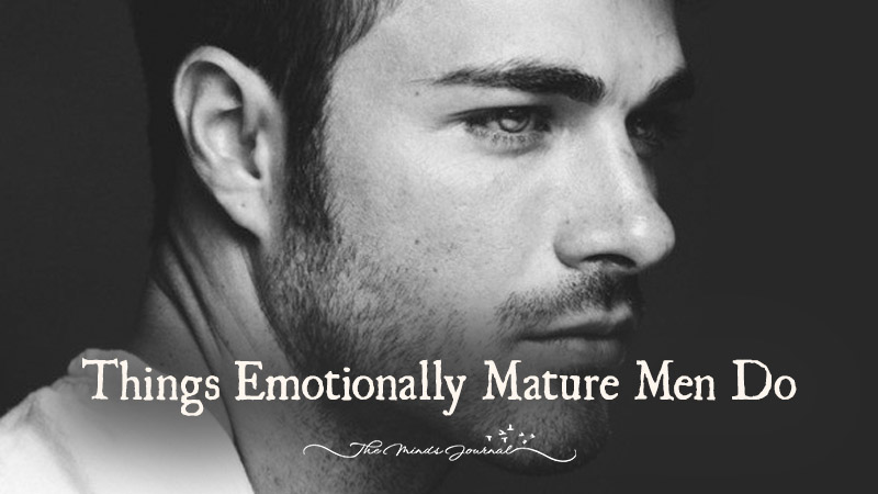 What Age Does A Man Emotionally Mature