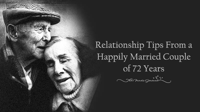 Relationship Tips From a Happily Married Couple of 72 Years