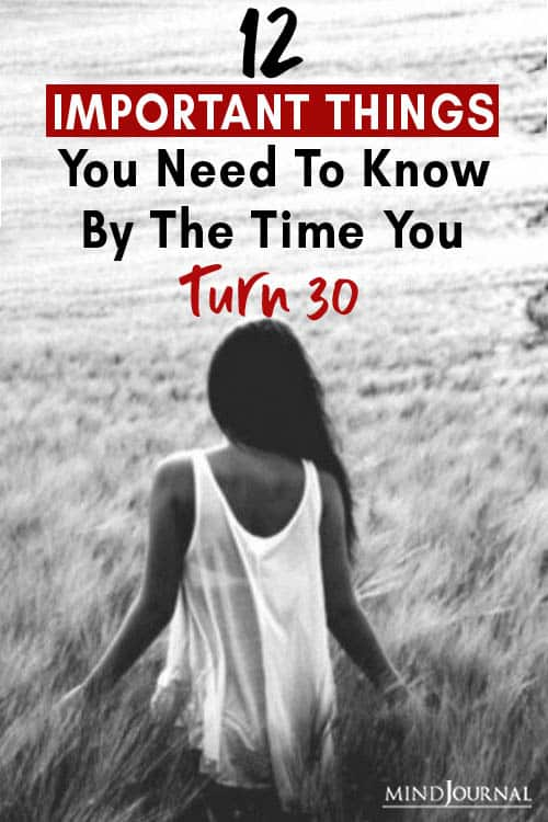 things know by time your turn 30 pin