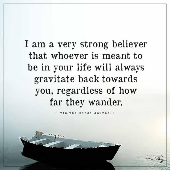 I am very strong believer