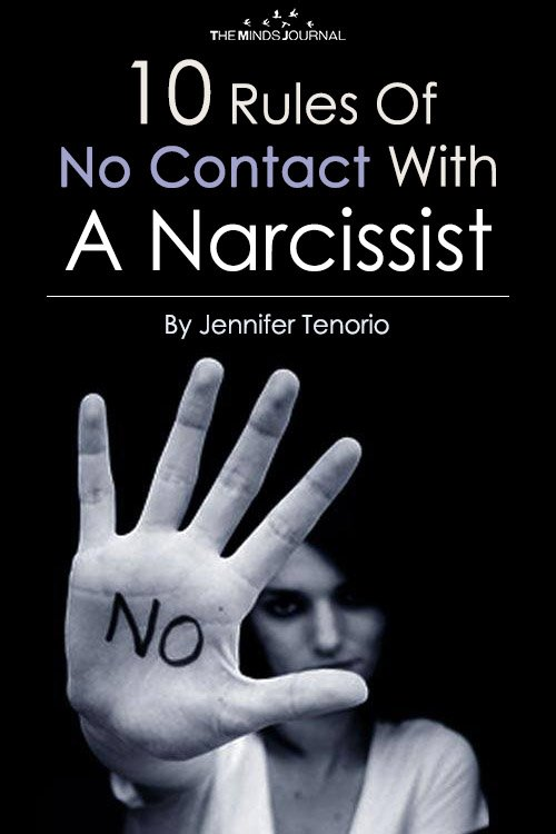 10 Rules Of No Contact With A Narcissist