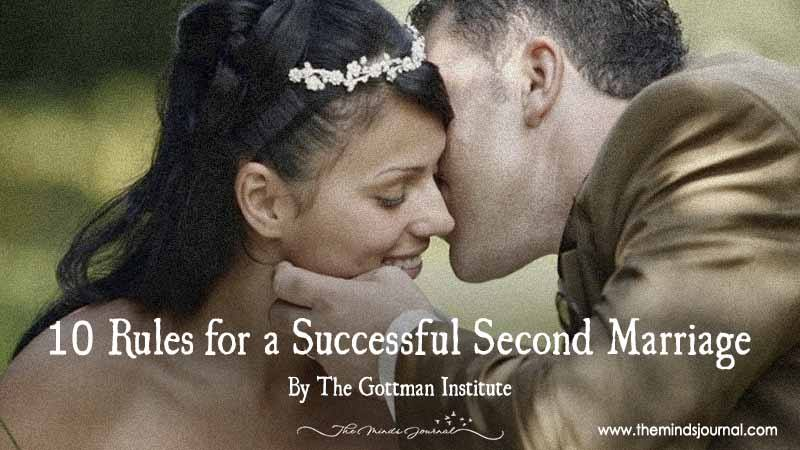 10 Rules For A Successful Second Marriage