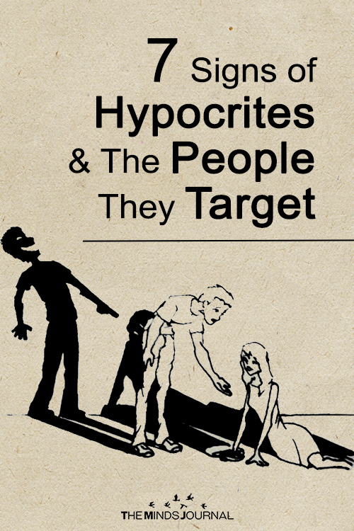 These Are The 7 Signs Of A Hypocrite And The People They Target
