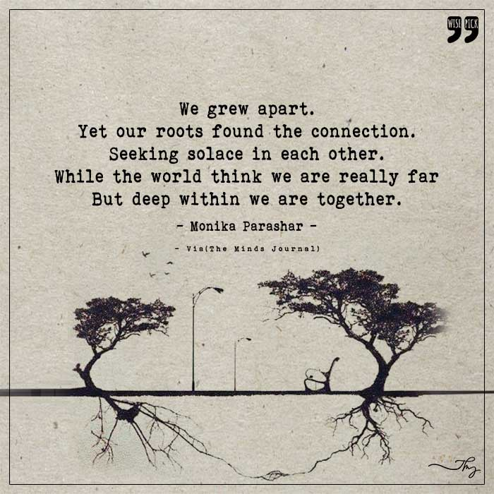 Grounding of our roots
