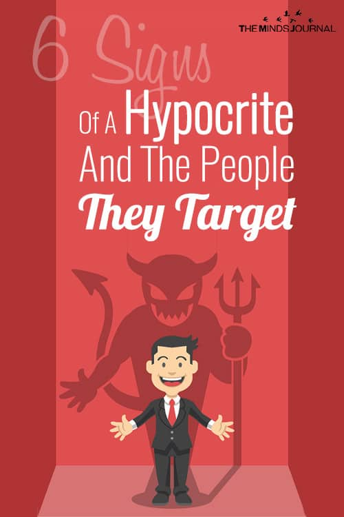6 Signs Of A Hypocrite And The People They Target