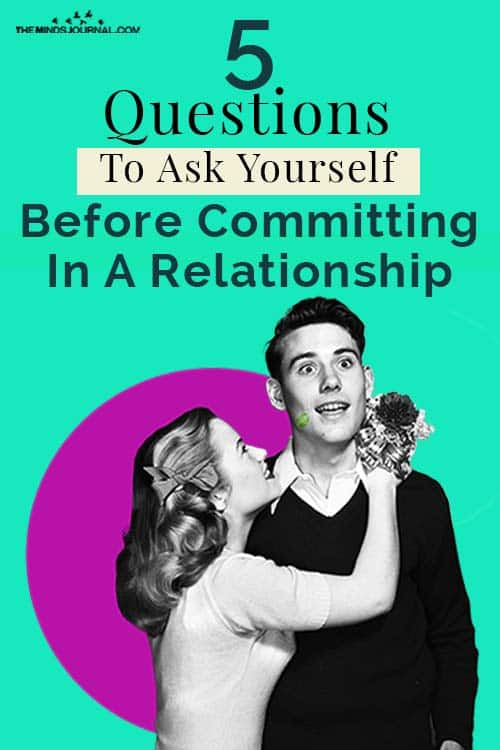Ask Yourself Before Committing Relationship Pin