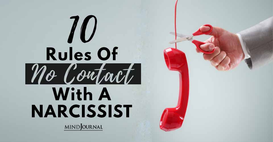 Rules No Contact With Narcissist