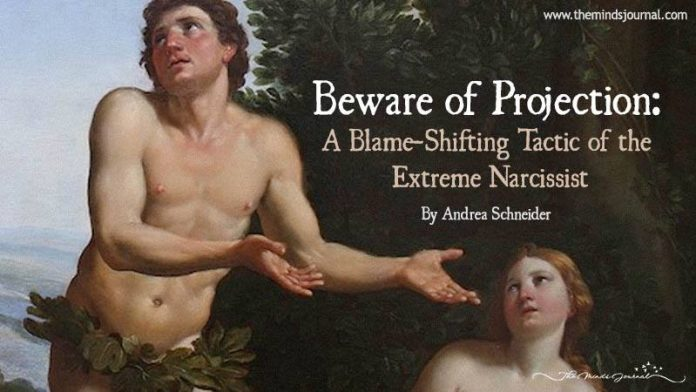 Beware Of Projection: A Blame-Shifting Tactic Of The Extreme Narcissist