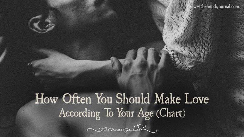 How Often You Should Make Love According To Your Age Chart The