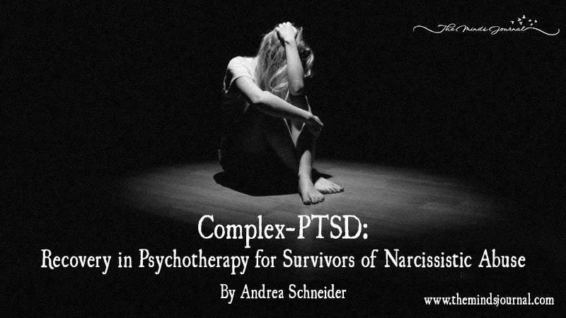 Complex-PTSD: Recovery In Psychotherapy For Survivors Of Narcissistic Abuse