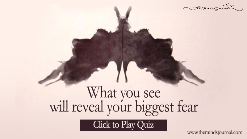 What Is Your Biggest Fear According To This Ink-Blot Test?