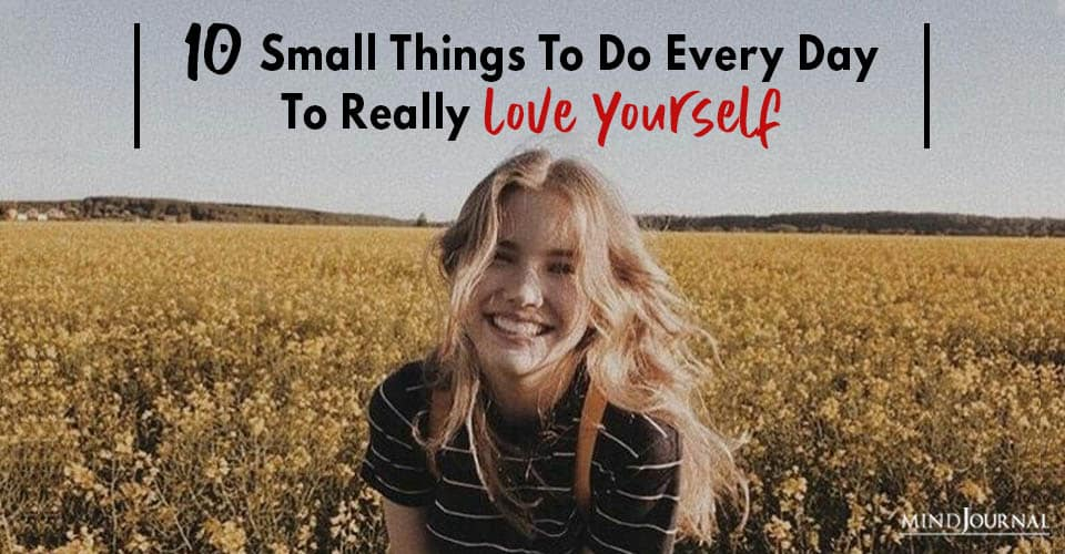 small things you can do everyday