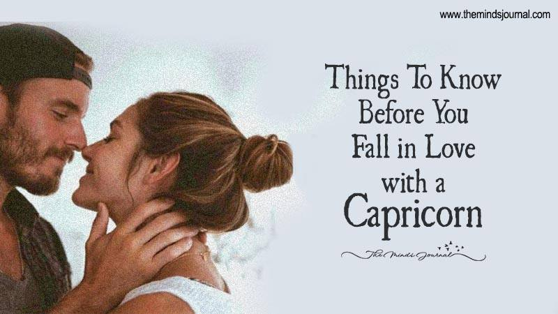 Signs a capricorn man is falling in love