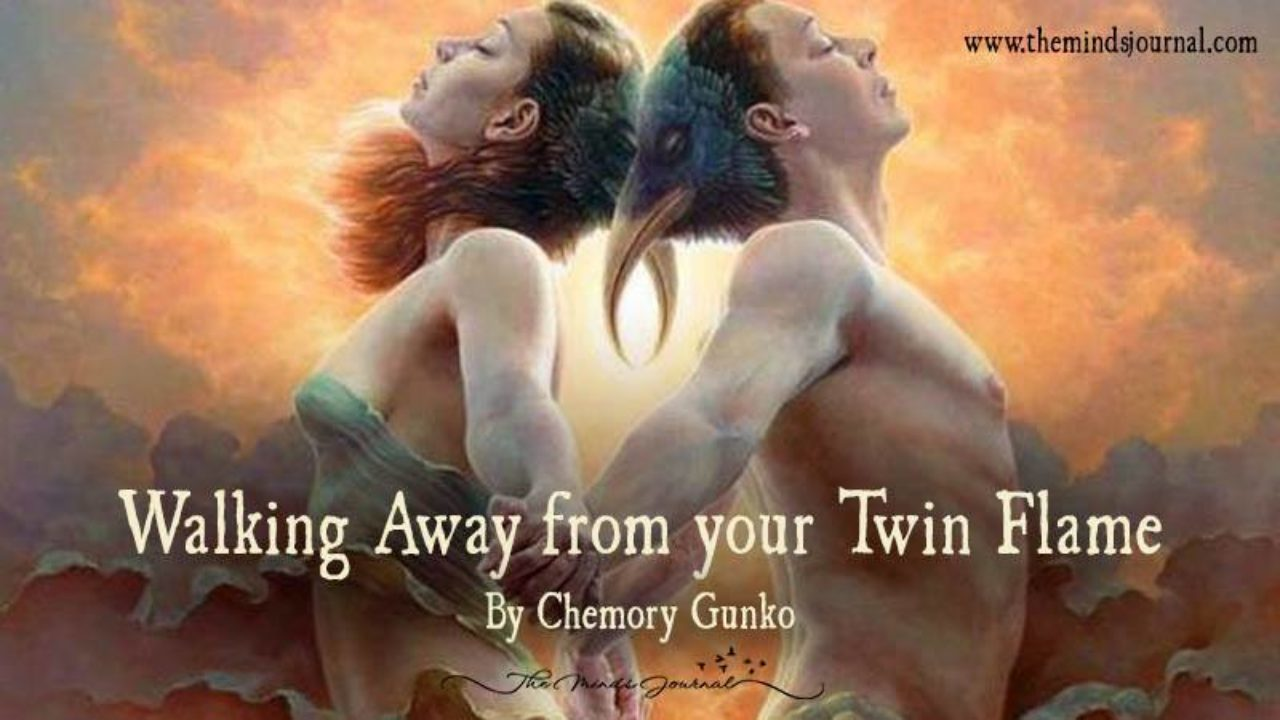 Walking Away From Your Twin Flame