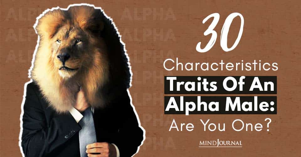 Traits of Alpha Male