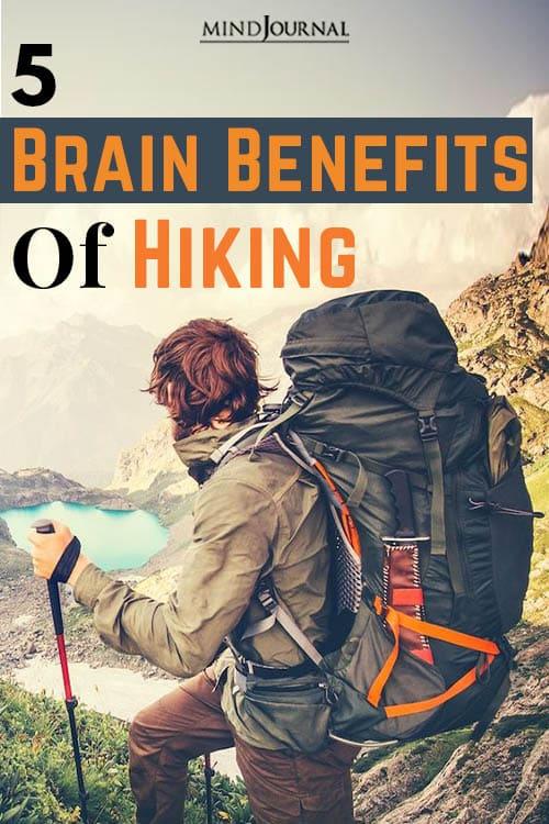 Brain Benefits Of Hiking pin