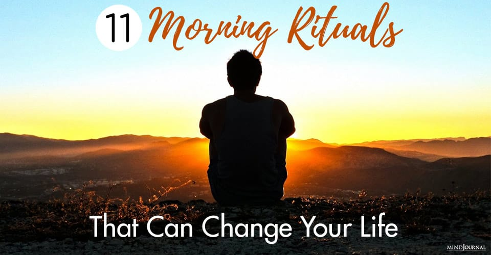 Morning Rituals Change Life