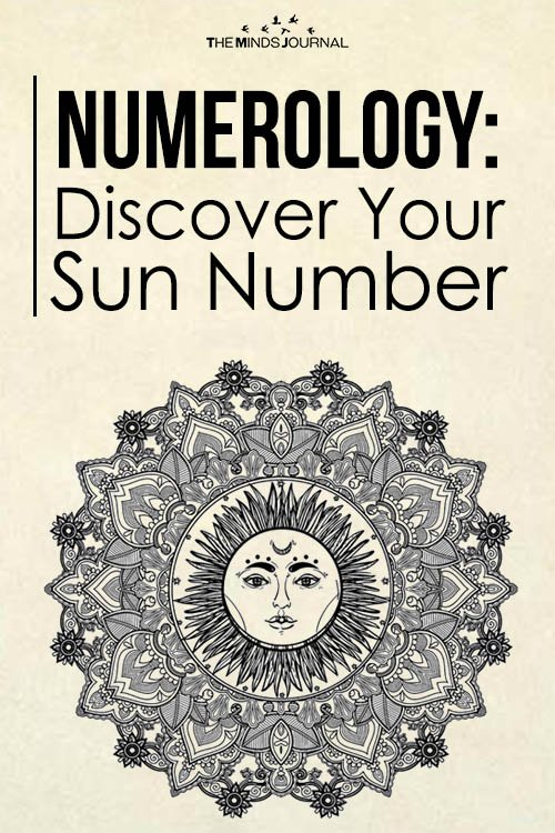 Numerology Discover Your Sun Number