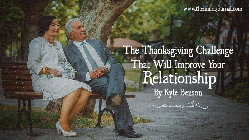 The Thanksgiving Challenge That Will Improve Your Relationship