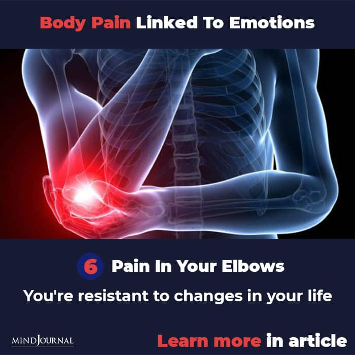 Types Body Pain Linked To Emotions Mental State elbow