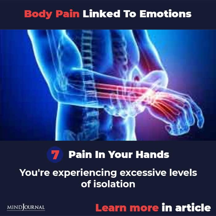 Types Body Pain Linked To Emotions Mental State hands