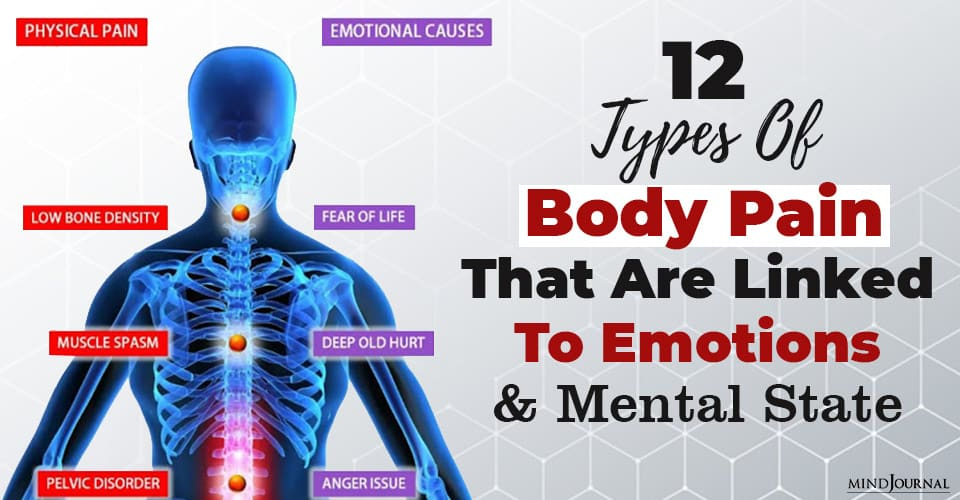 Types Body Pain Linked To Emotions Mental State