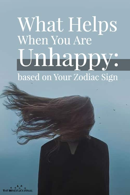 What Helps When You Are Unhappy: based on Your Zodiac Sign