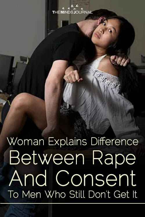 Woman Explains Difference Between Rape And Consent To Men Who Still Don't Get It
