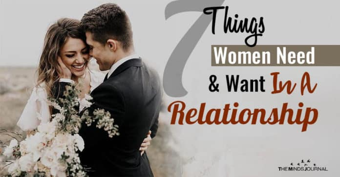 Women Need In A Relationship