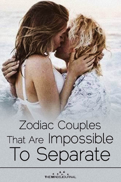 The Two Zodiac Couples That Are Impossible To Separate