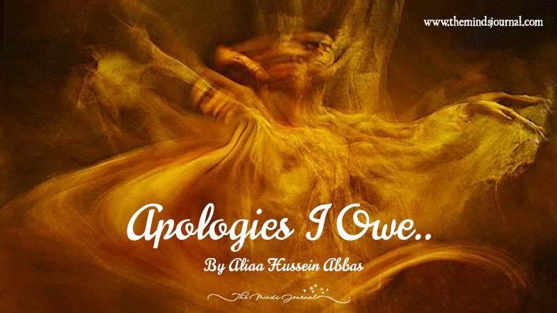 Apologies I Owe!