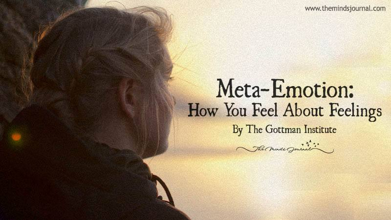 Meta-Emotion: How You Feel About Feelings