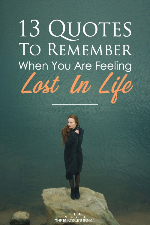 Quotes When Feeling Lost