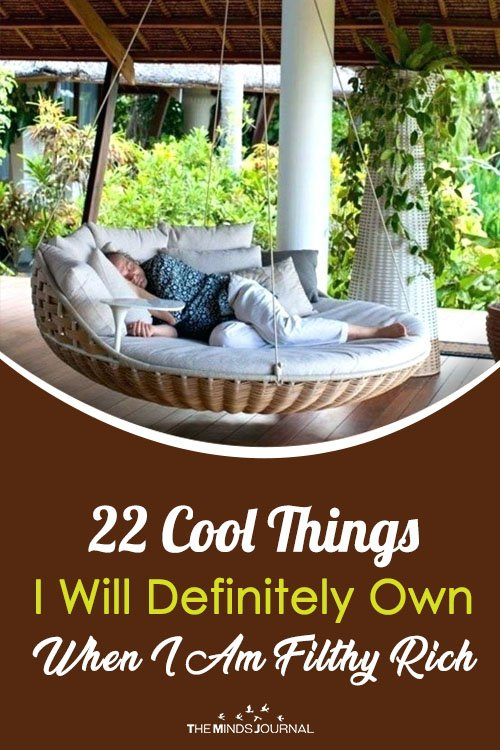 22 Cool Things I Will Definitely Own When I Am Filthy Rich