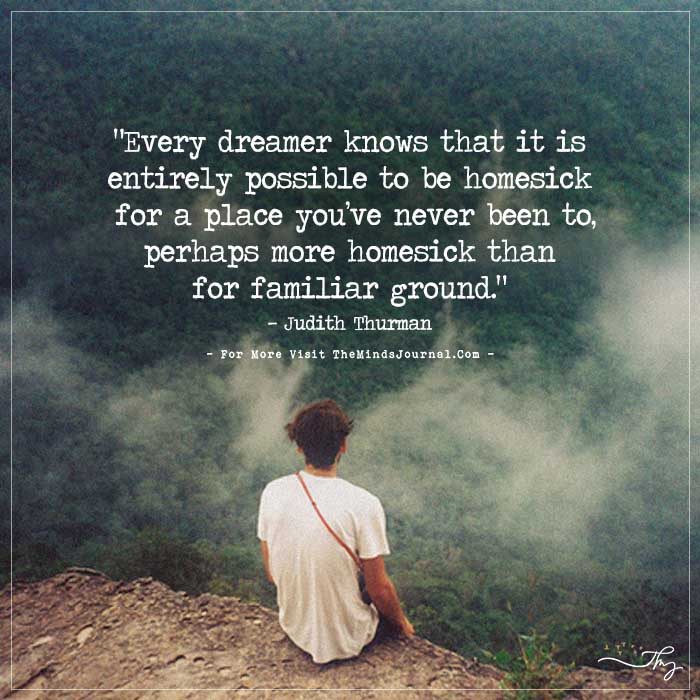 Every Dreamer Knows That It Is Entirely Possible