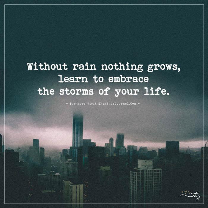 life without rain