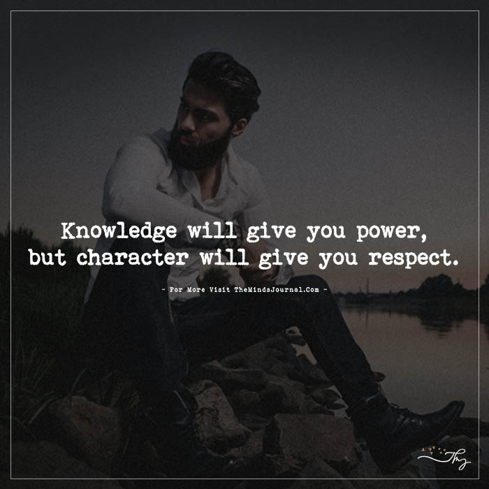 Knowledge will give you power…