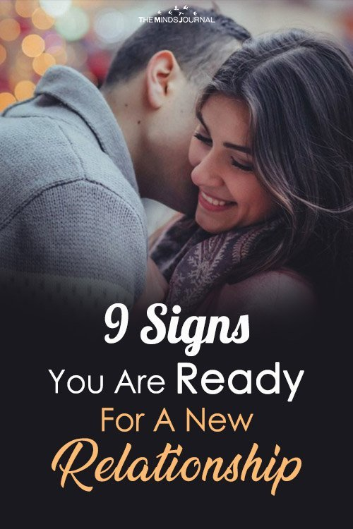 Signs You Are Ready For A New Relationship