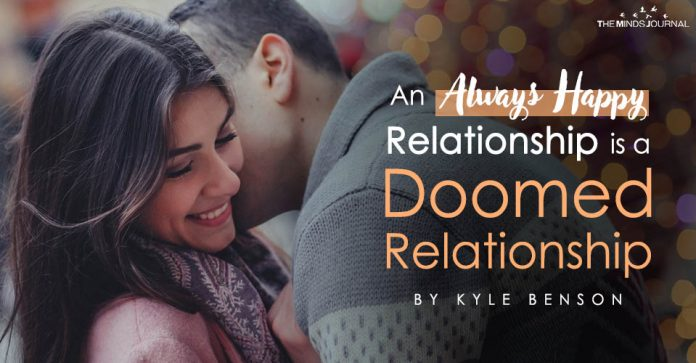 Happy Relationship is a Doomed Relationship