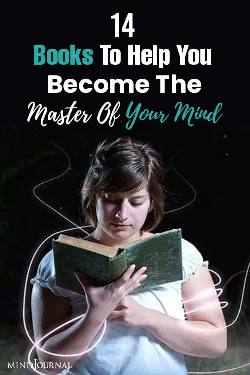 Books Help You Become Master Your Mind pin