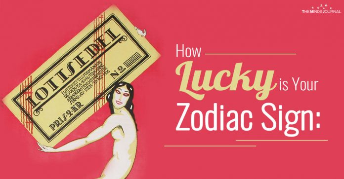 How Lucky is Your Zodiac Sign : This is What The Stars Say
