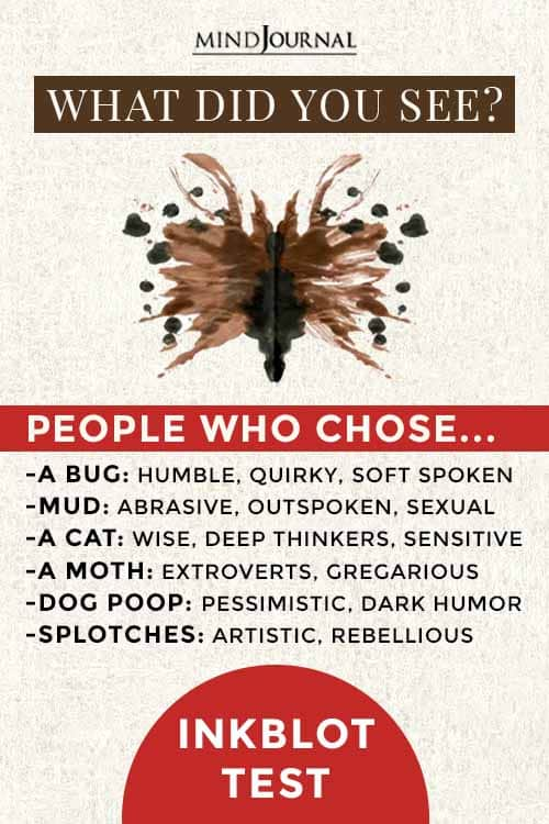 Inkblot Test Analyze Personality Accurately Pin