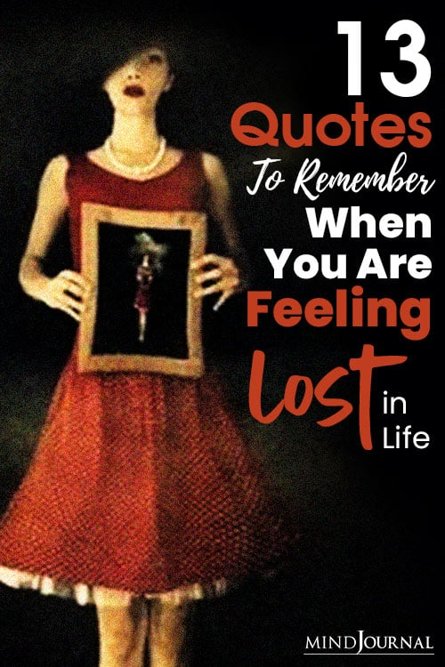 Quotes Feeling Lost In Life pin